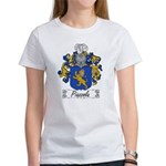 Piazzola Family Crest Women's T-Shirt