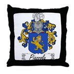 Piazzola Family Crest Throw Pillow