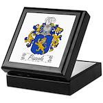 Piazzola Family Crest Keepsake Box