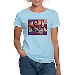 Impressionist Swallows Women's Light T-Shirt