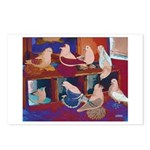 Impressionist Swallows Postcards (Package of 8)