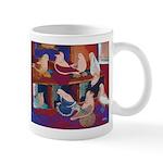 Impressionist Swallows Mug