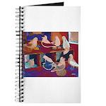 Impressionist Swallows Journal