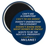 McCain is McLame Magnet