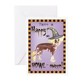 Halloween Chinese Crested Greeting Cards (Pk of 10