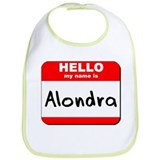 Hello my name is Alondra Bib