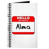 Hello my name is Alma Journal