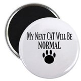 Next Cat Normal Magnet