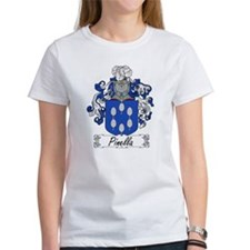 Pinella Family Crest Tee