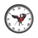 Cute Rcmp Wall Clock