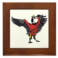 Cute Rcmp Framed Tile