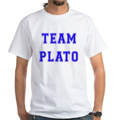 Team Plato White T-Shirt