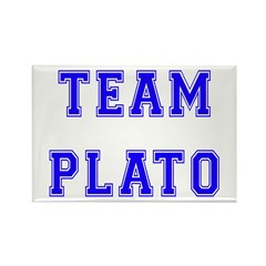 Team Plato Rectangle Magnet