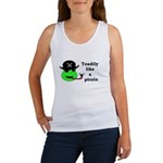 TOADILY LIKE A PIRATE Women's Tank Top