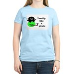 TOADILY LIKE A PIRATE Women's Light T-Shirt