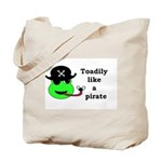TOADILY LIKE A PIRATE Tote Bag