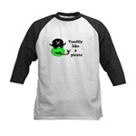TOADILY LIKE A PIRATE Kids Baseball Jersey