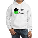 TOADILY LIKE A PIRATE Hooded Sweatshirt