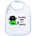 TOADILY LIKE A PIRATE Bib