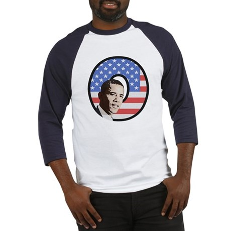 Obama Stars & Stripes Baseball Jersey
