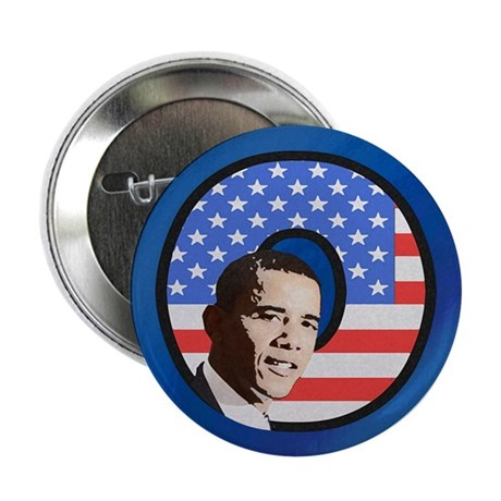 "Obama Stars & Stripes 2.25"" Button (100 pack)"