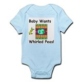 Baby Wants Whirld Peas Infant Creeper