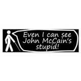 Blind Bumper Bumper Sticker