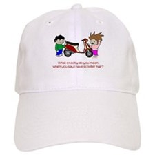 Scooter Hair Baseball Cap