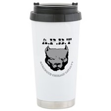 Strength Courage Loyalty Ceramic Travel Mug