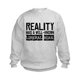 Reality/Liberal Bias Sweatshirt