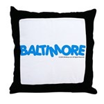 Baltimore, MD Throw Pillow