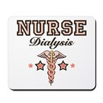 Dialysis Nurse Caduceus Mousepad