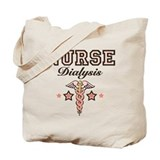 Dialysis Nurse Caduceus Tote Bag