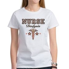 Dialysis Nurse Caduceus Tee