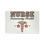 Community Health Nurse Rectangle Magnet (100 pack)