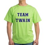 Team Twain Green T-Shirt