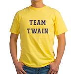 Team Twain Yellow T-Shirt