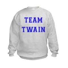 Team Twain Kids Sweatshirt