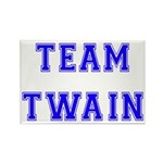 Team Twain Rectangle Magnet (10 pack)