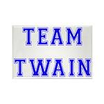 Team Twain Rectangle Magnet