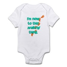 New to Walking Infant Bodysuit