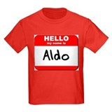 Hello my name is Aldo T