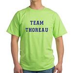 Team Thoreau Green T-Shirt