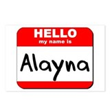 Hello my name is Alayna Postcards (Package of 8)