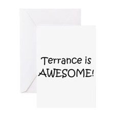 Terrance name Greeting Card