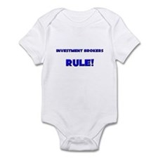 Investment Brokers Rule! Infant Bodysuit