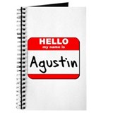 Hello my name is Agustin Journal