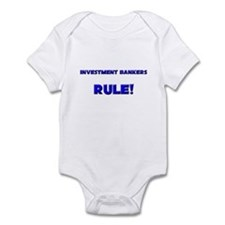 Investment Bankers Rule! Infant Bodysuit