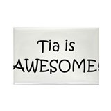 Unique Tia Rectangle Magnet (10 pack)