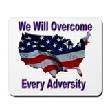 Overcome Adversity Mousepad